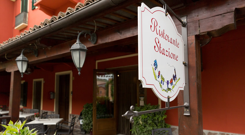 "The ""Stazione"" Restaurant."
