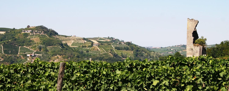 Santo Stefano Belbo e il territorio delle Langhe.